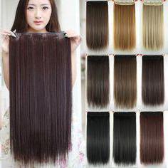 накладные пряди из натуральных волос на заколках