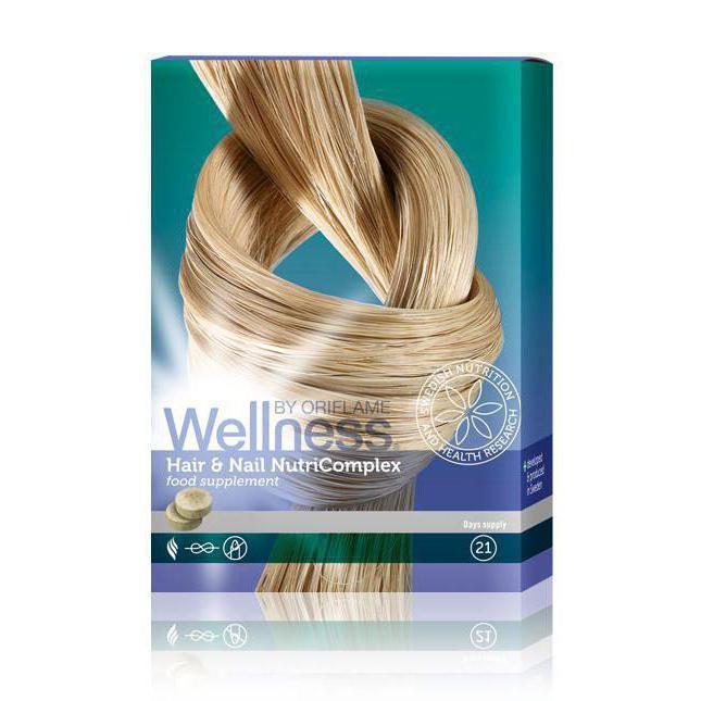 нутрикомплекс для волос и ногтей 28507 орифлейм