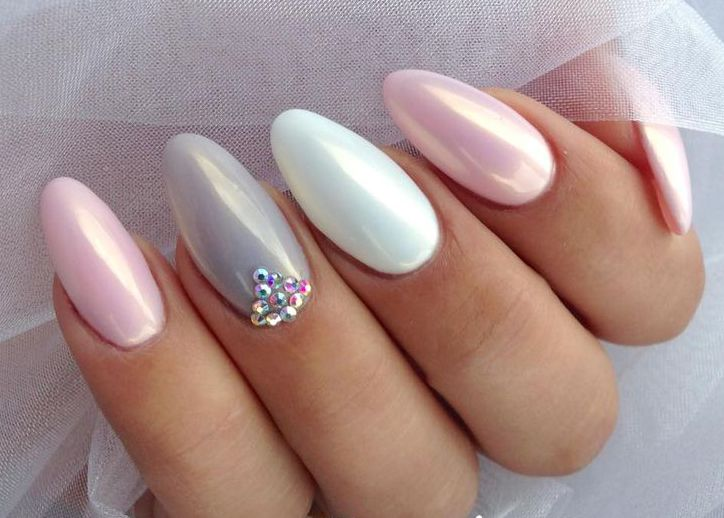 pearl effect on nails