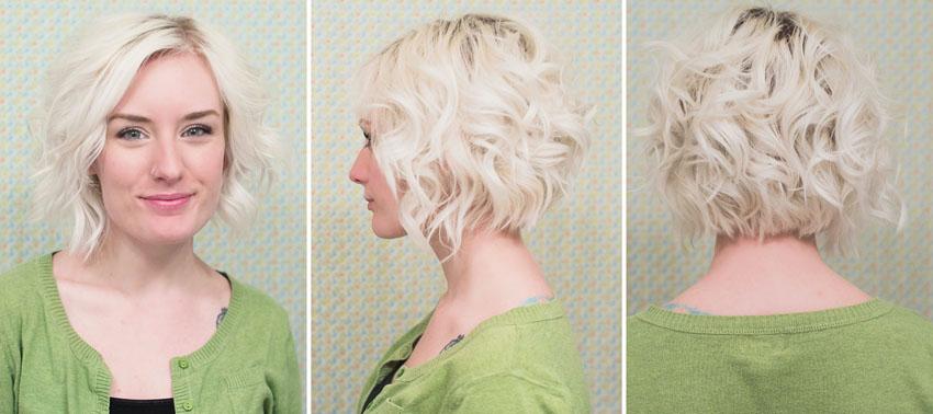Как на короткий волос сделать легкие волны на волосах 549