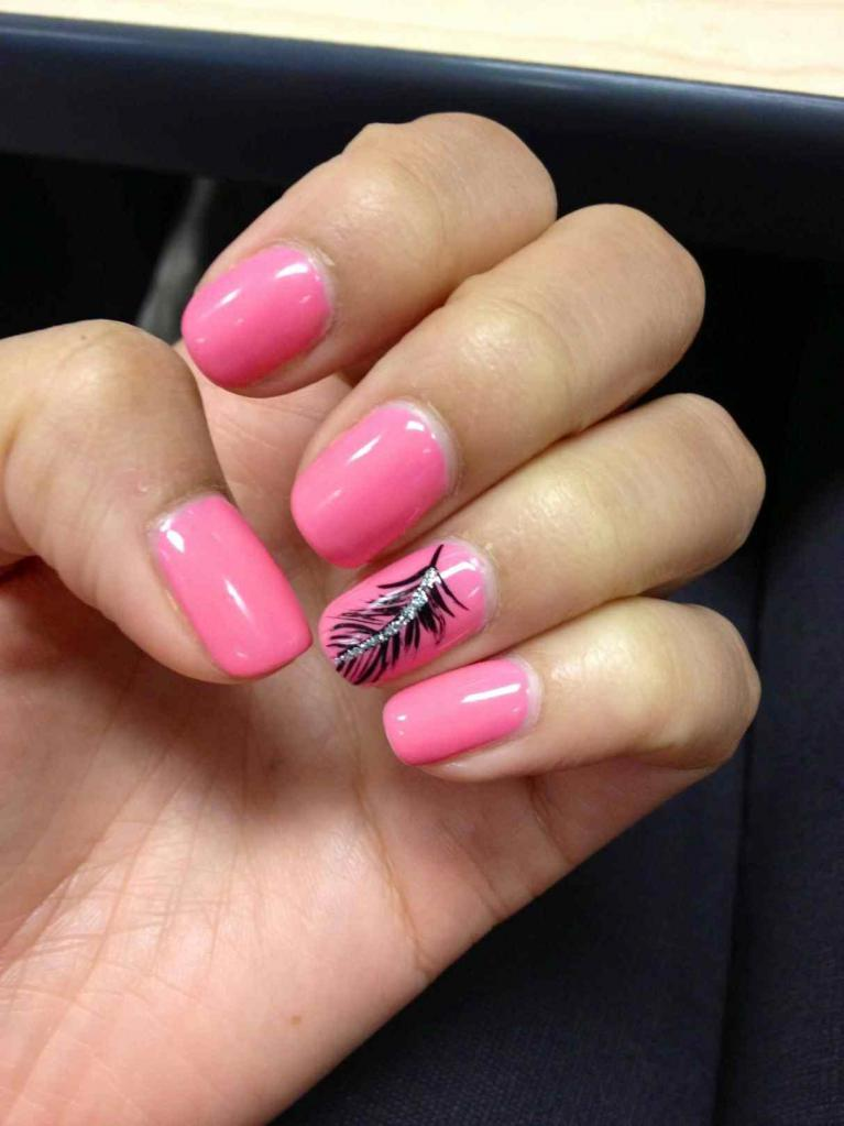 feather on the nail