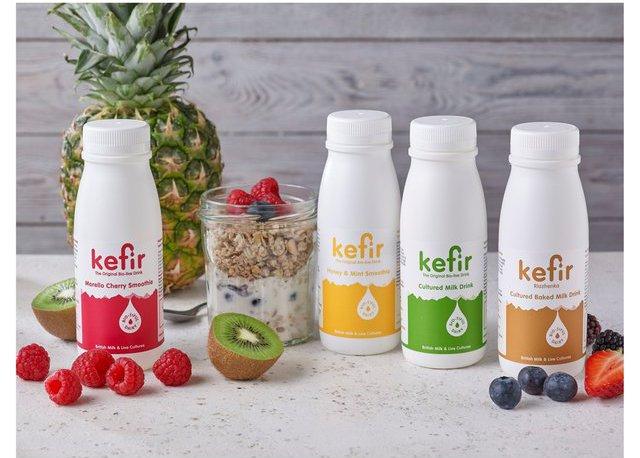 jars of kefir