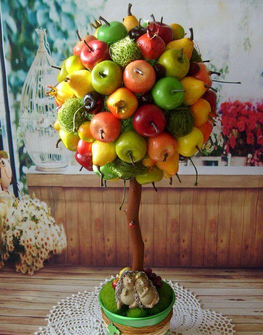 нужно топиарии из фруктов картинки начала вам