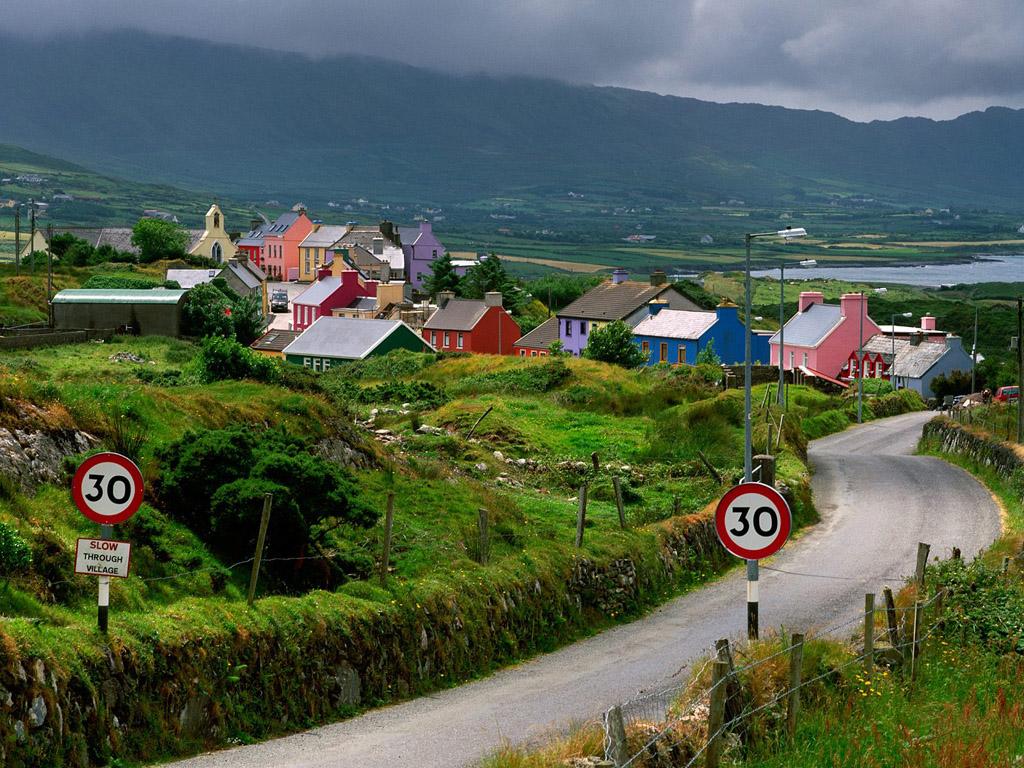 ирландская деревня