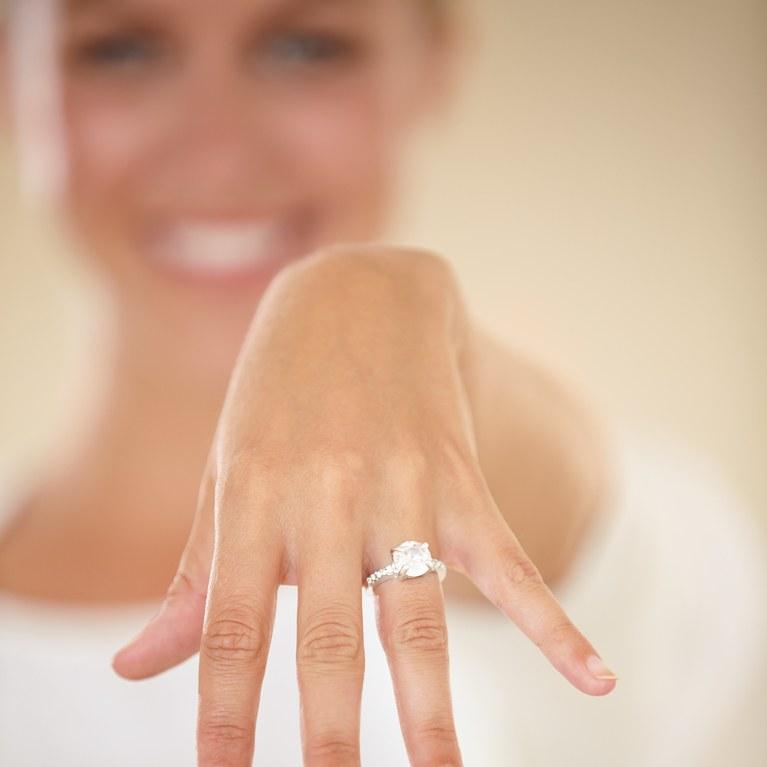 На какую руку надевают помолвочное кольцо: свадебные традиции, общественные нормы