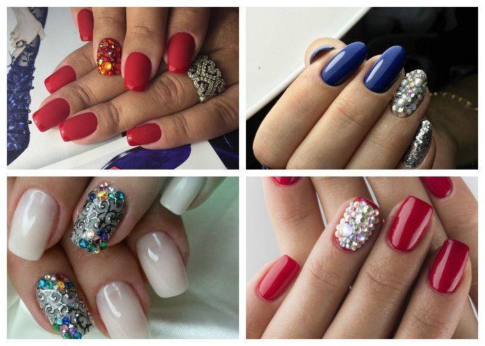 Роскошный маникюр: идеи дизайна ногтей