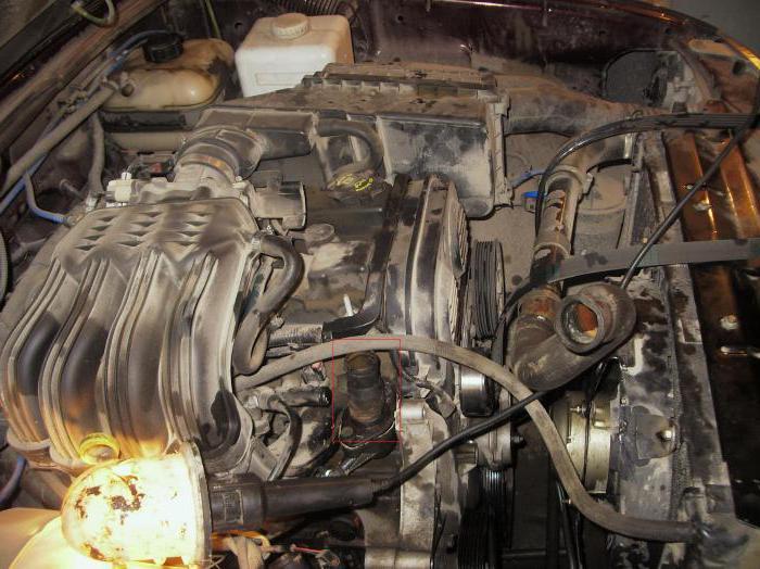 газ двигатель крайслер