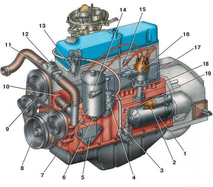 двигатель 405