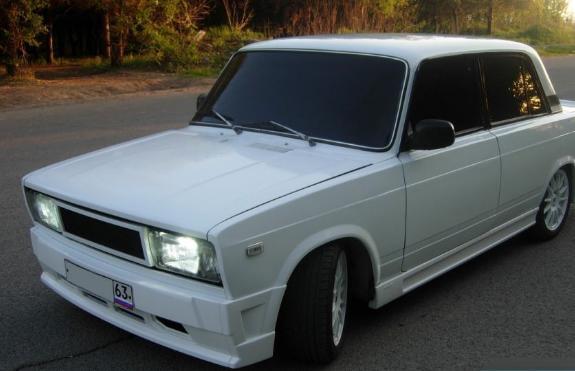 Тюнинг бампера ВАЗ 2105