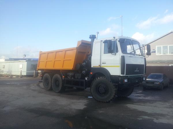 Самосввал МАЗ 6517