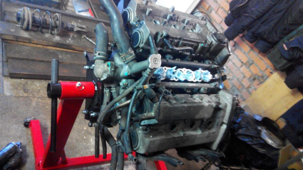 Ремонт мотора Лансер 9