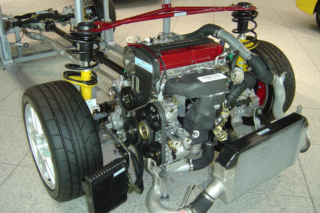 Тюнинг мотора Лансер 9