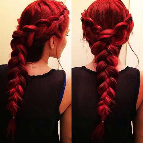 прическа для девочки коса