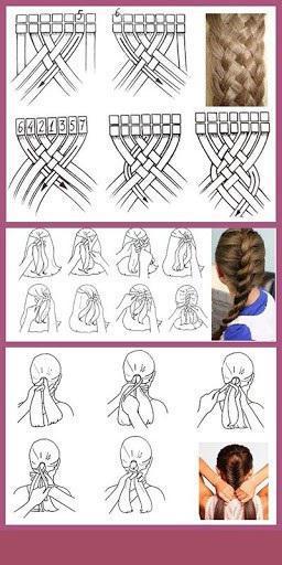 косы для девочек на длинные волосы
