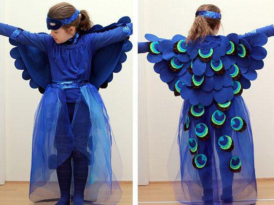 детский костюм жар птицы
