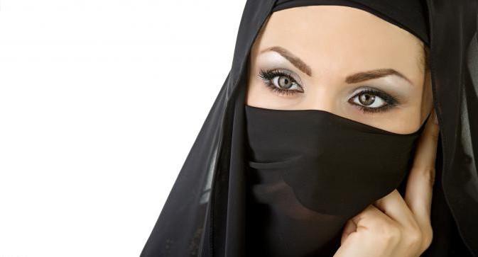 женщины в арабских странах