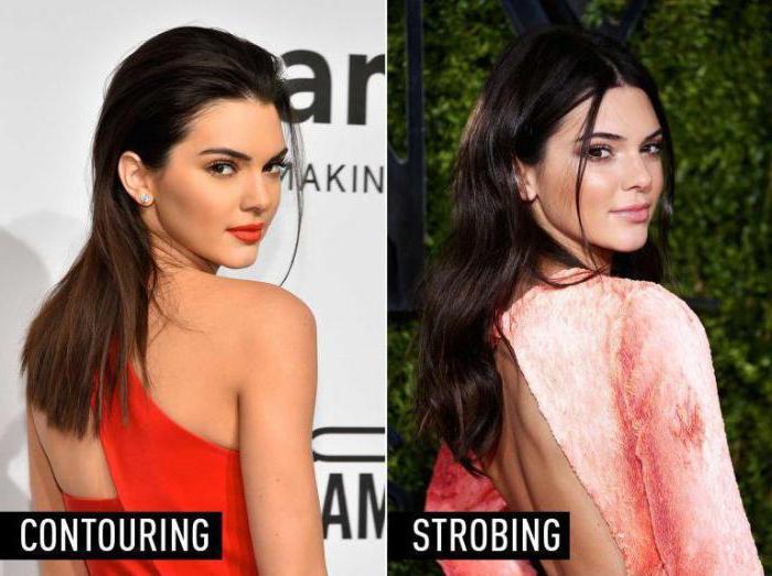 стробинг новый тренд макияжа