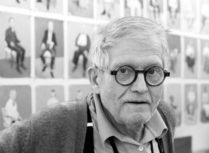 David Hockney: the biography and information