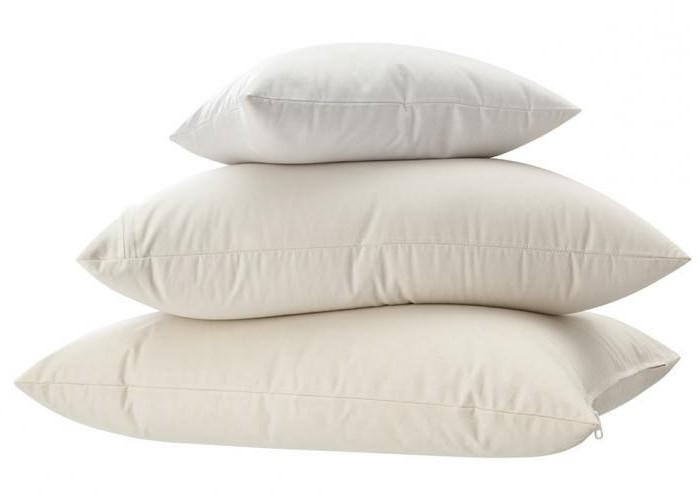 подушки с наполнителем из гречишной лузги