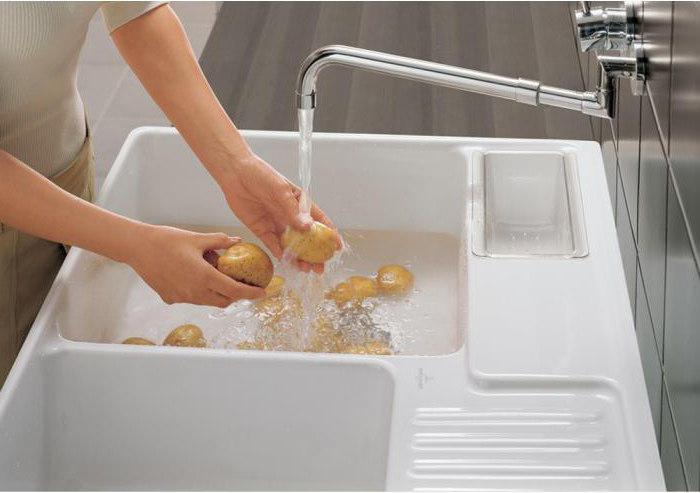 Керамическая мойка для кухни: отзывы