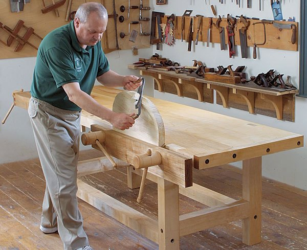 Do-it-yourself joiner table creation process