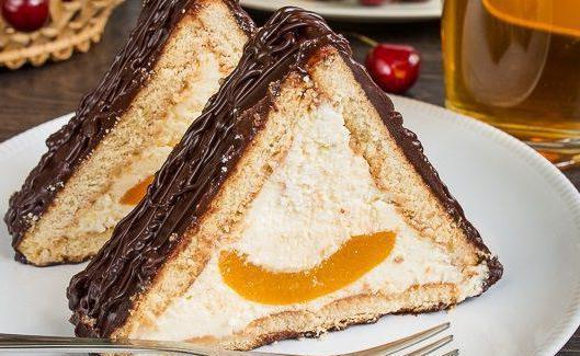 торта шалаш из печенья Рецепт