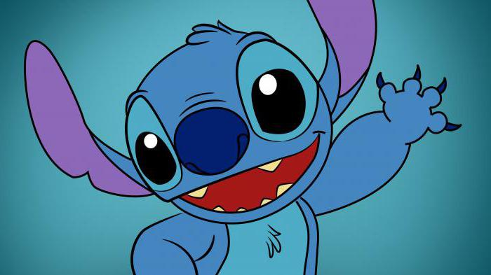 "How to draw Stitch? The cartoon ""Lilo and Stitch"""