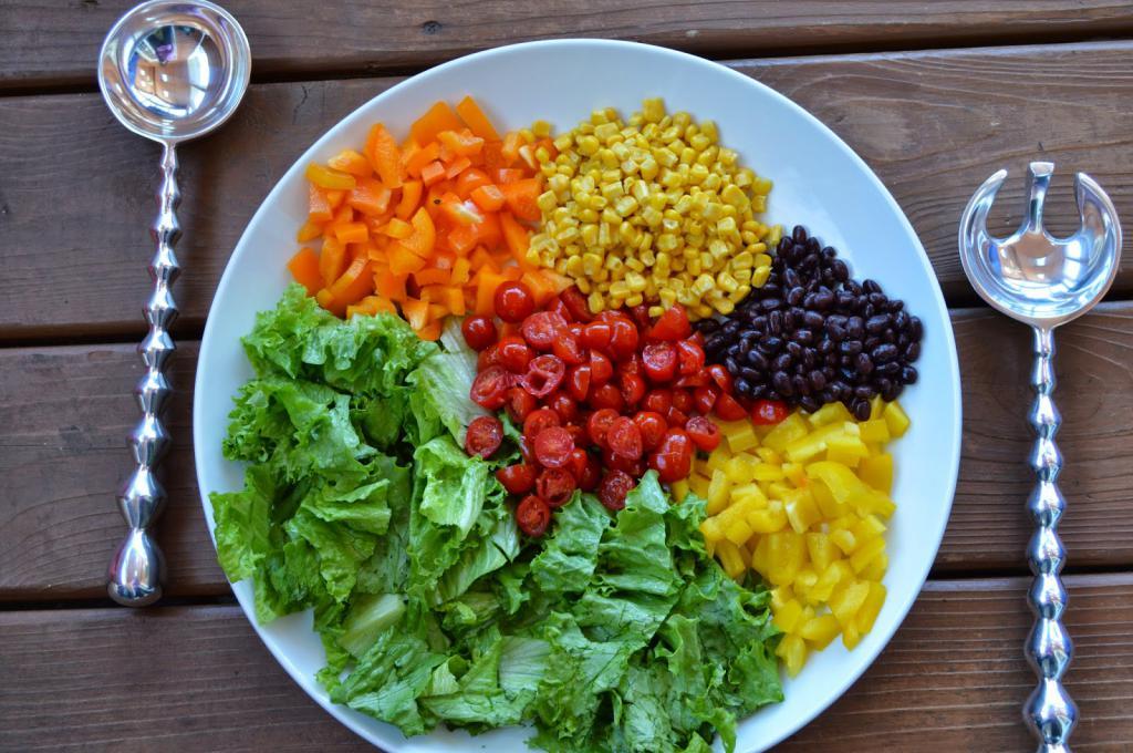 красиво оформить салат радуга рецепт с фото пошагово свои