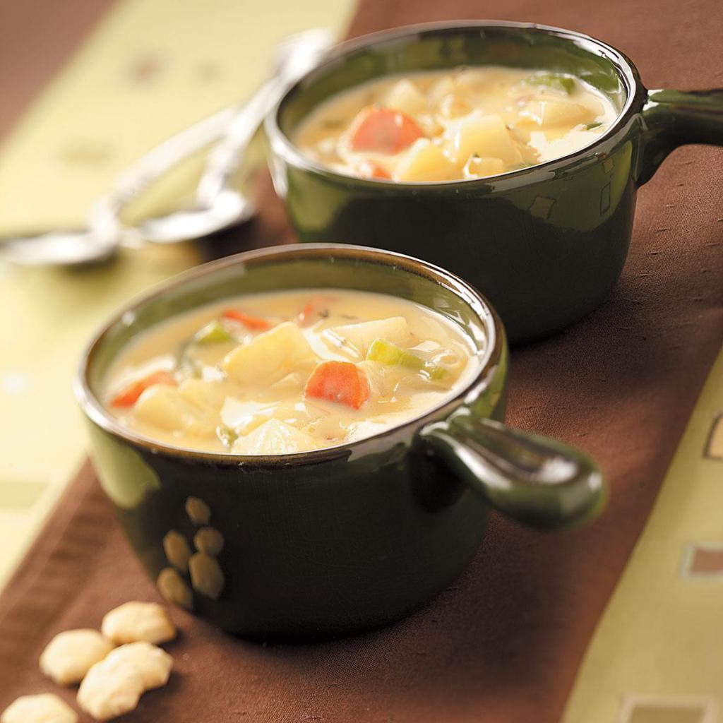 Рецепт супа с плавленным сыром и курицей пошагово