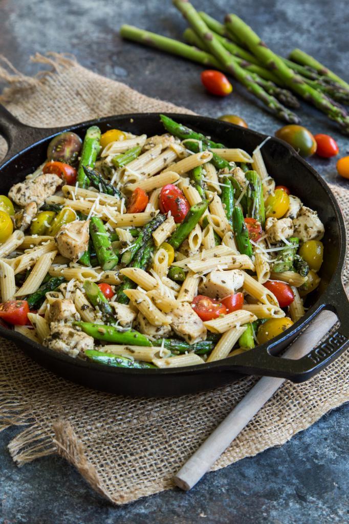 pasta with pesto recipe