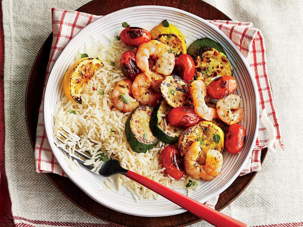 креветки с овощами рецепты