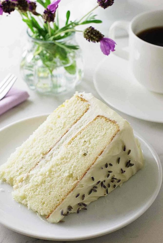 lavender cake recipe