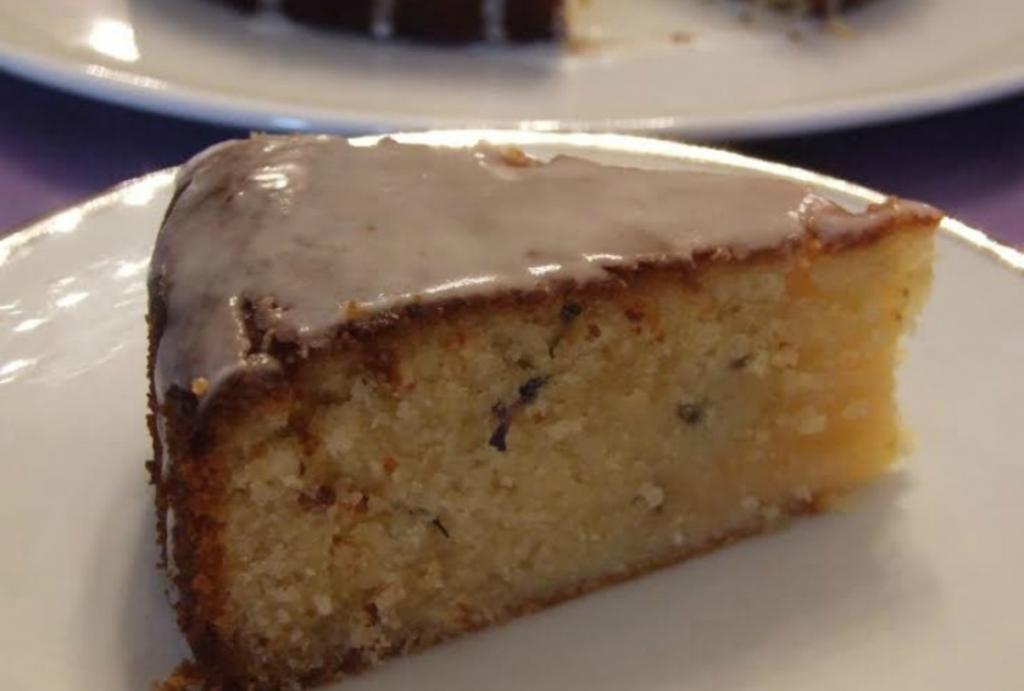 lavender cake photo