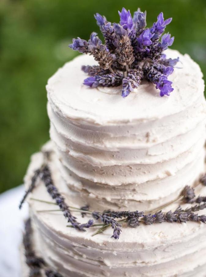 lavender blueberry cake