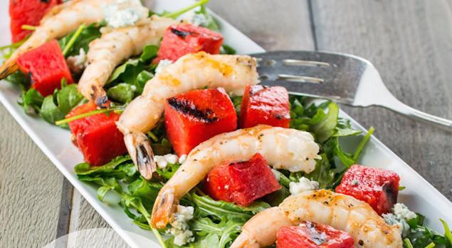 arugula with shrimp recipe