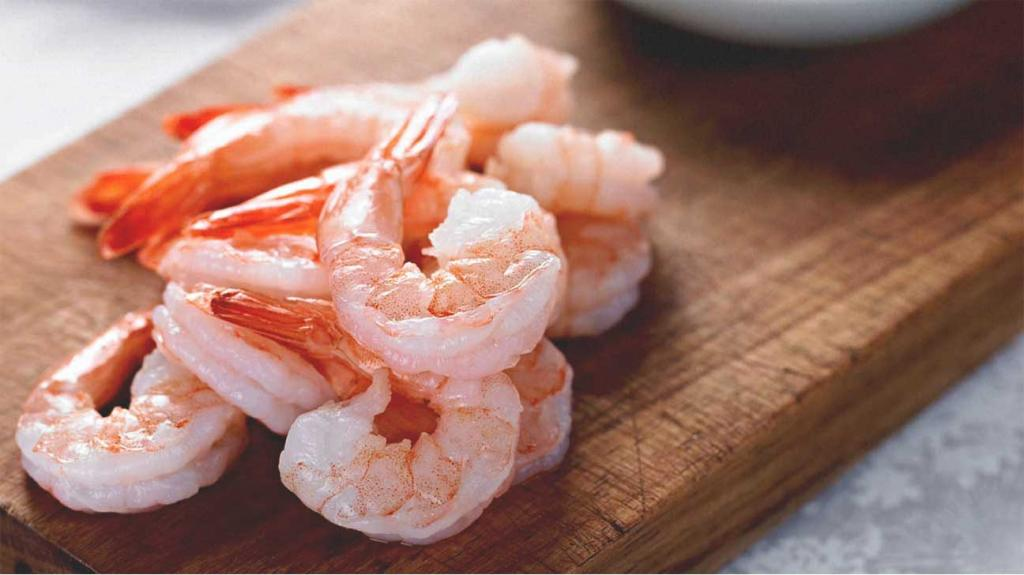 shrimp arugula