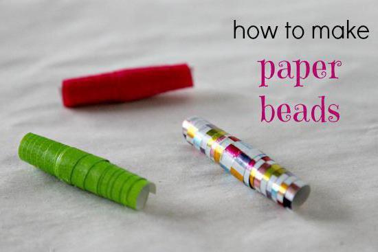 как сделать браслет из бумаги своими руками