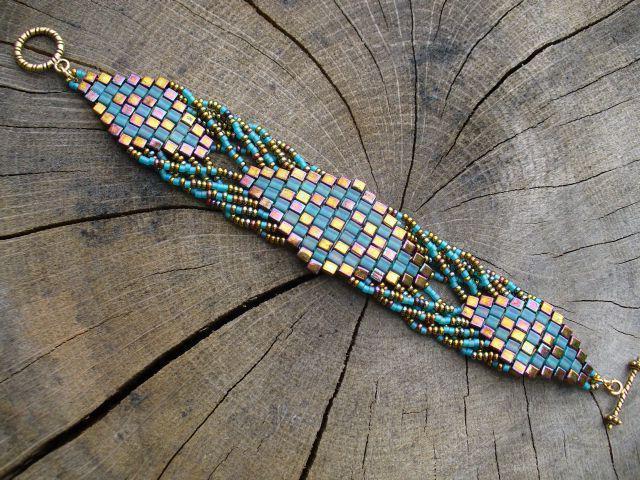 кирпичное плетение для начинающих