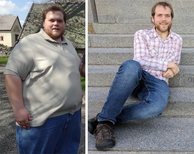 Примеры похудения мужчин до и после