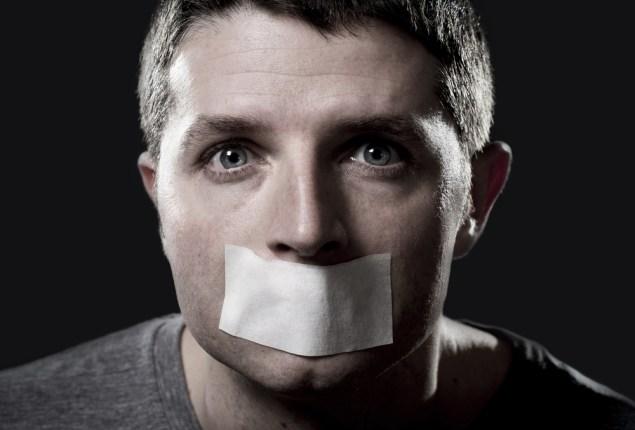 что заставляет мужчин молчать