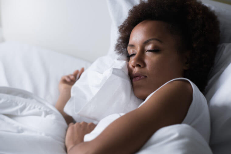 why during sleep drool from the mouth with white sediment on the lips