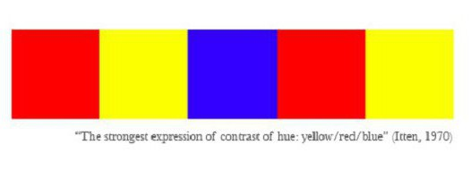законы цветовой гармонии