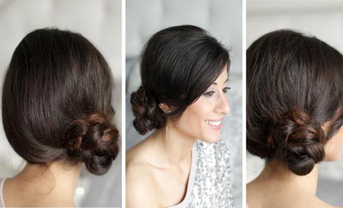 секреты создания торжественных причесок на волосы средней длины