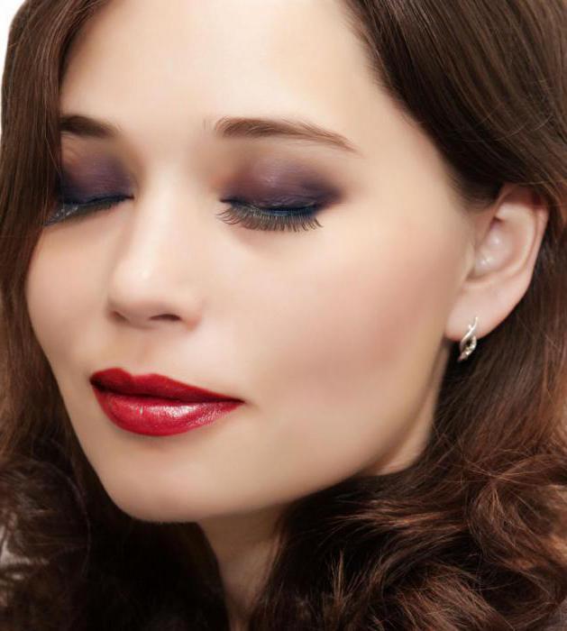 дымчатый макияж для зеленых глаз пошагово