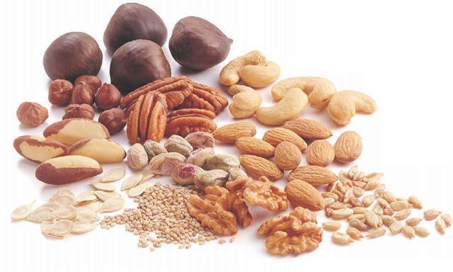 орехи названия