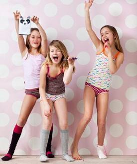 фото в нижнем белье девочек подростков