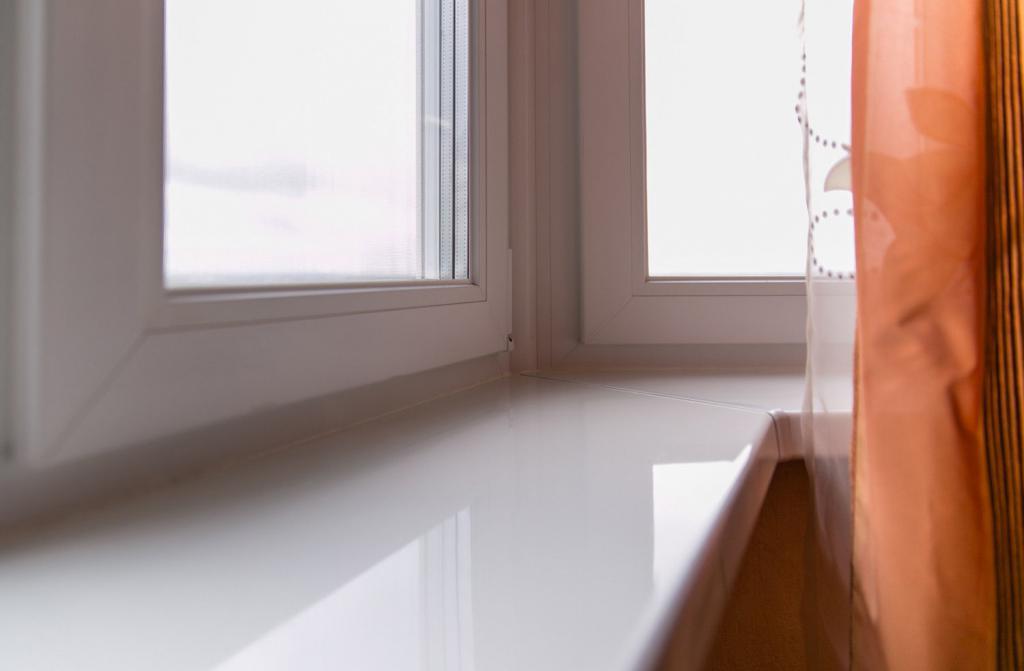 window sill installation