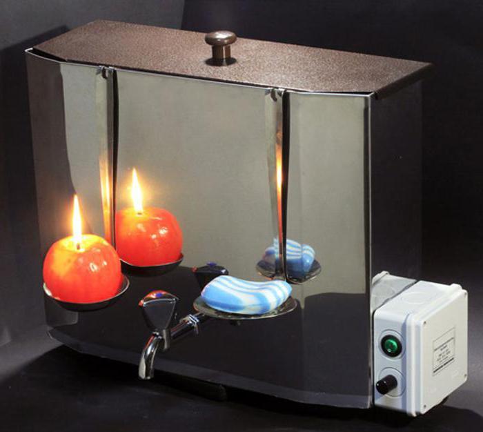 водонагреватель наливной для дачи