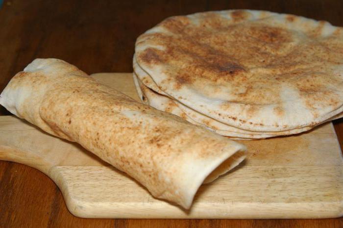 калорийность лаваша армянского тонкого