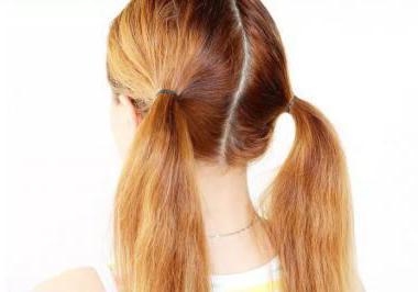 Как сделать красивый хвост на длинные волосы